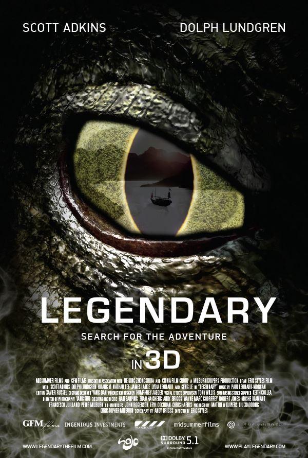 movie poster for Legendary