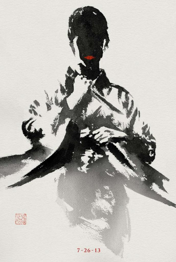 The Wolverine sumi-e poster 1