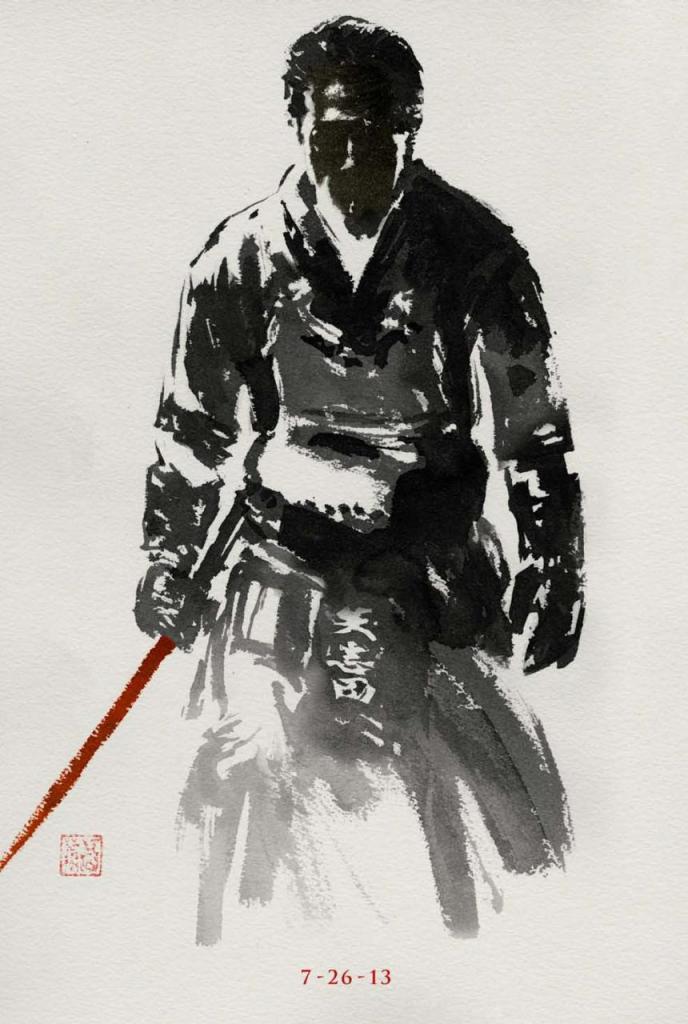The Wolverine sumi-e poster 3