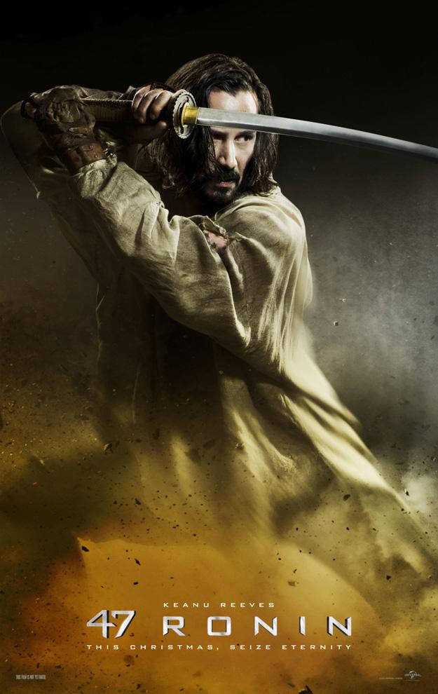 47 Ronin poster Keanu Reeves