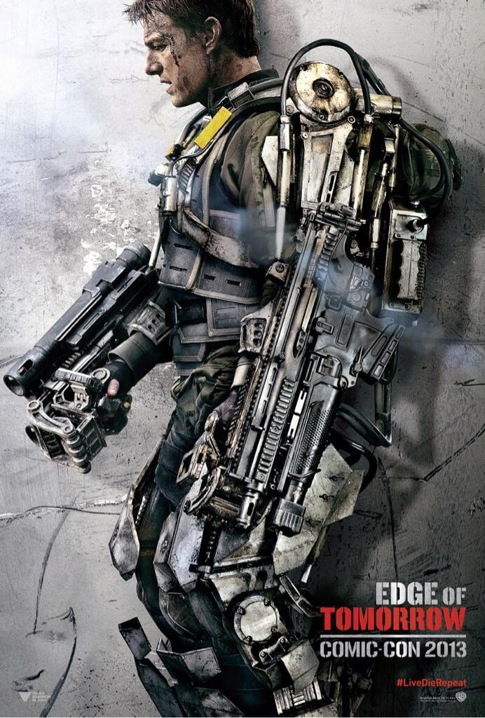 Edge of Tomorrow poster Tom Cruise