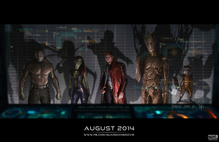 Guardians of the Galaxy concept art 2