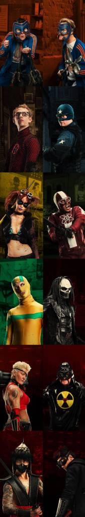 Kick-Ass 2 heroes and villains