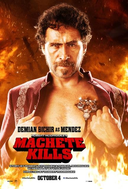 Machete Kills poster Demian Bichir