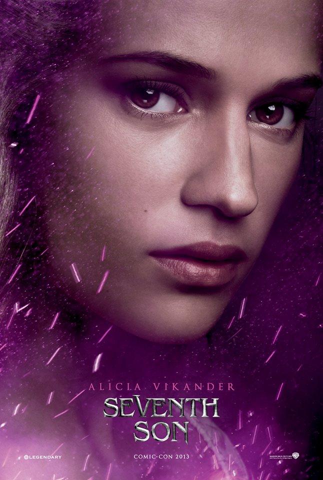 Seventh Son poster Alicia Vikander