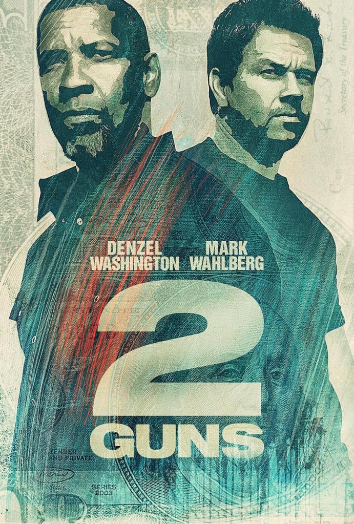 2 Guns intl poster