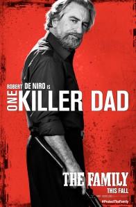 The Family poster Robert De Niro