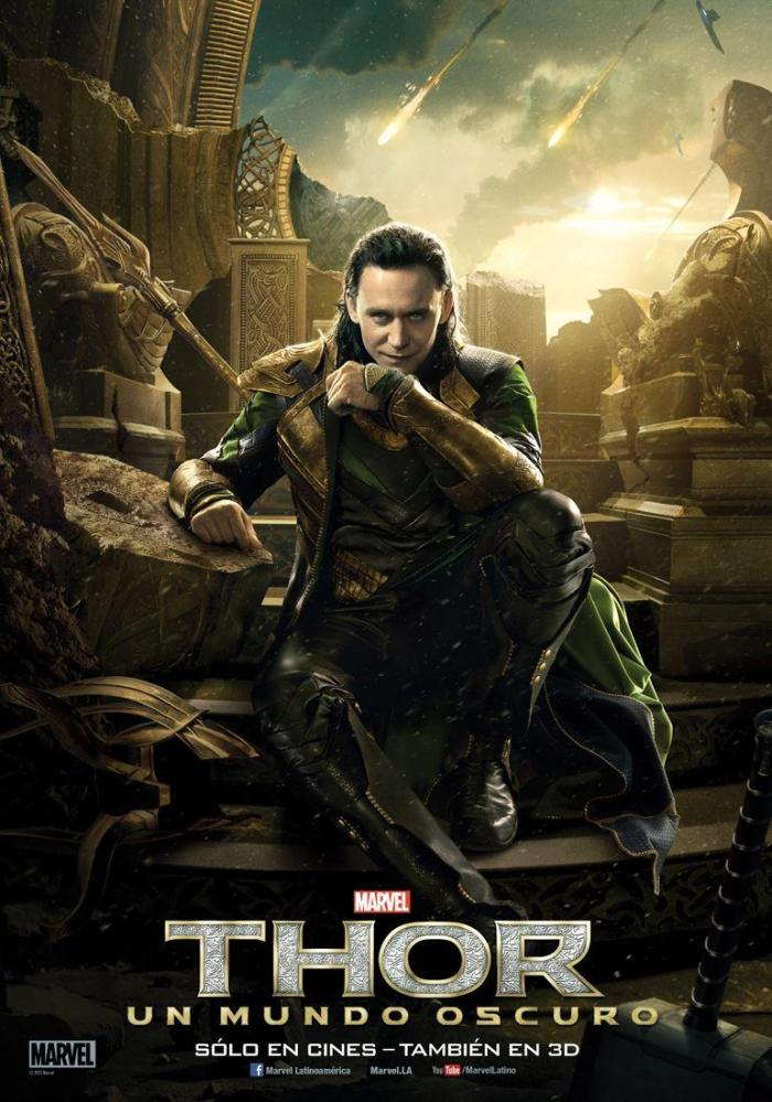 Thor The Dark World intl poster Loki