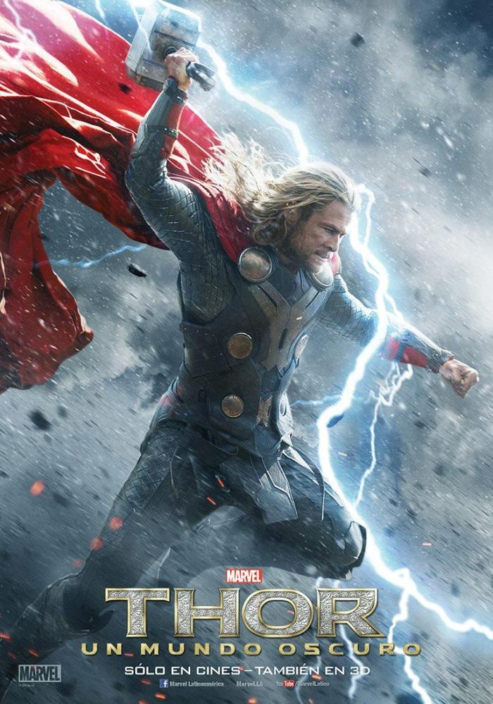 Thor The Dark World intl poster