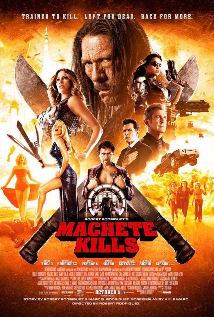 Machete Kills poster 2