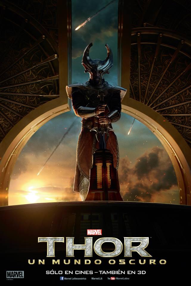 Thor The Dark World poster Heimdall