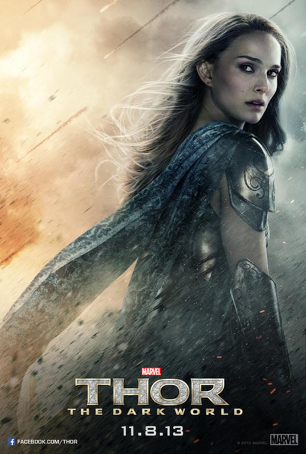 Thor The Dark World poster Jane Foster