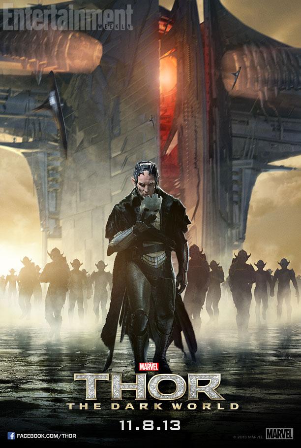 Thor The Dark World poster Malekith
