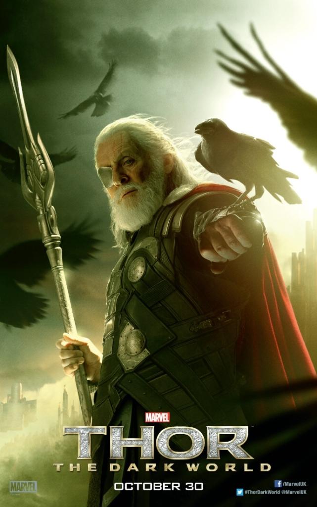 Thor The Dark World poster Odin