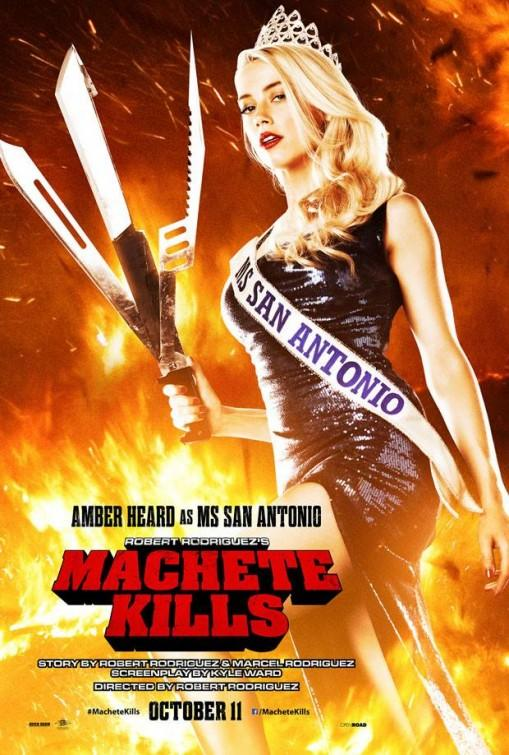 Machete Kills poster Amber Heard