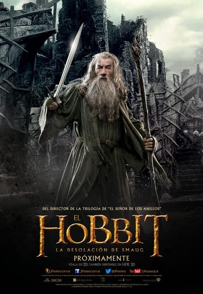 The Hobbit The Desolation of Smaug intl poster 1