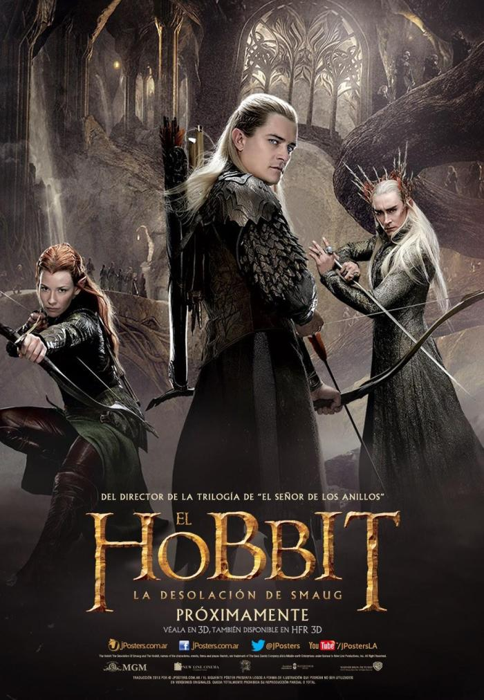 The Hobbit The Desolation of Smaug intl poster 2