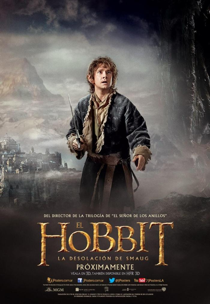 The Hobbit The Desolation of Smaug intl poster 3