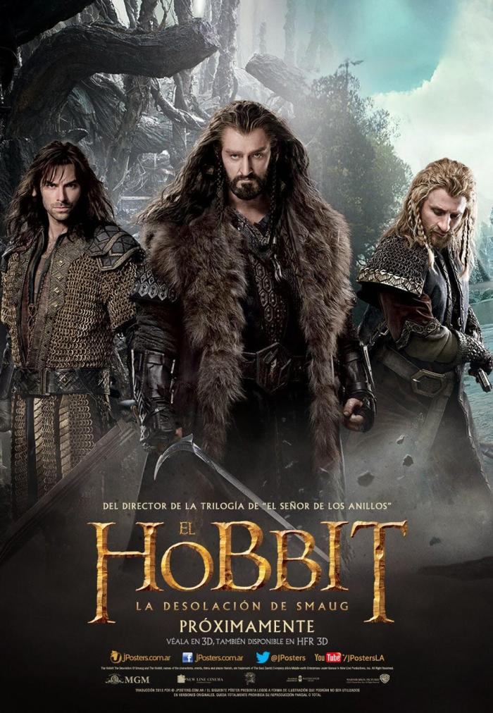 The Hobbit The Desolation of Smaug intl poster 4