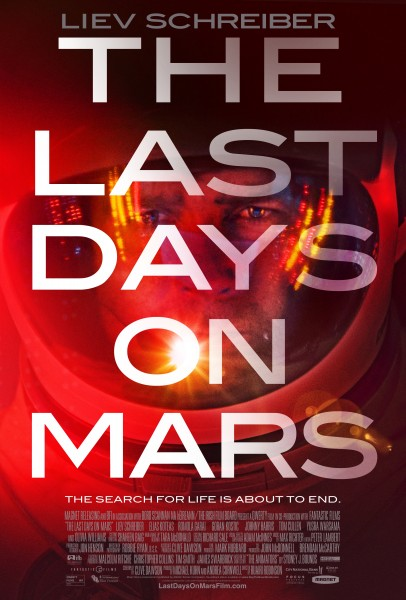 The Last Days on Mars poster 2