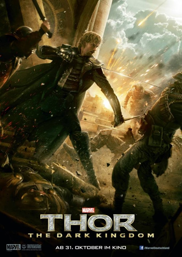 Thor The Dark World poster Fandral
