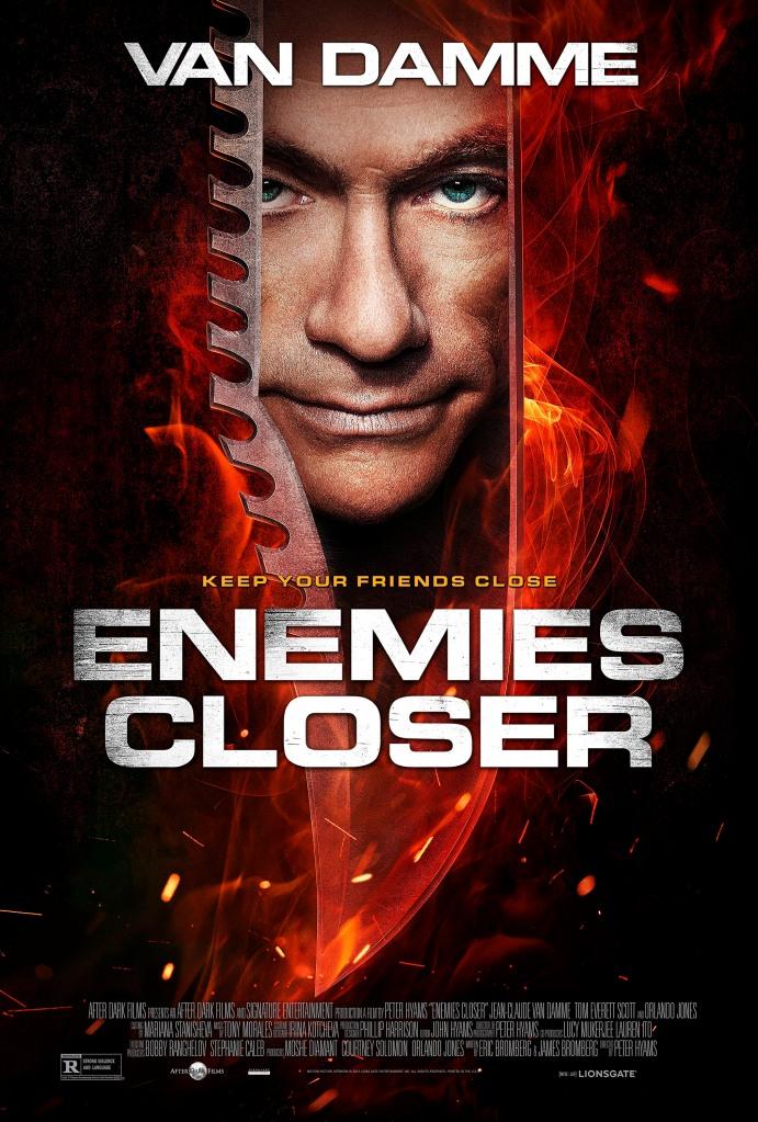 Enemies Closer poster 2