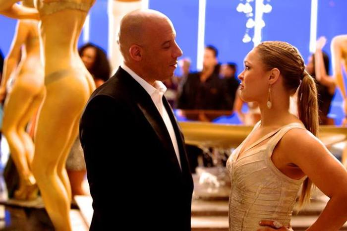Fast and Furious 7 pic Vin Diesel Ronda Rousey