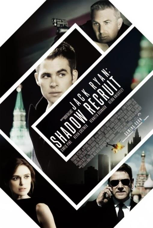Jack Ryan Shadow Recruit poster 2