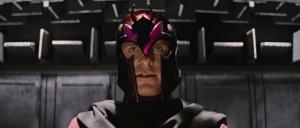 Magnetos red purple helmet