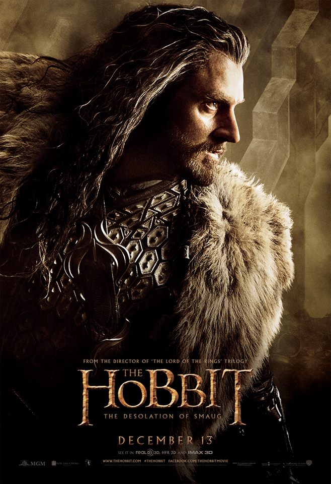 The Hobbit The Desolation of Smaug character poster 1