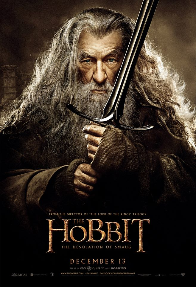The Hobbit The Desolation of Smaug character poster 2