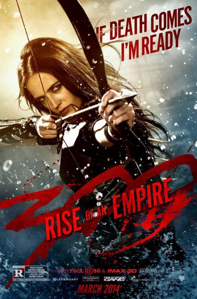 300 Rise of an Empire poster Eva Green 2