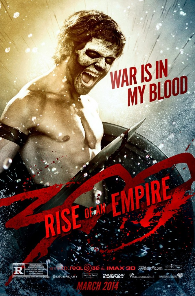 300 Rise of an Empire poster Jack OConnell 2