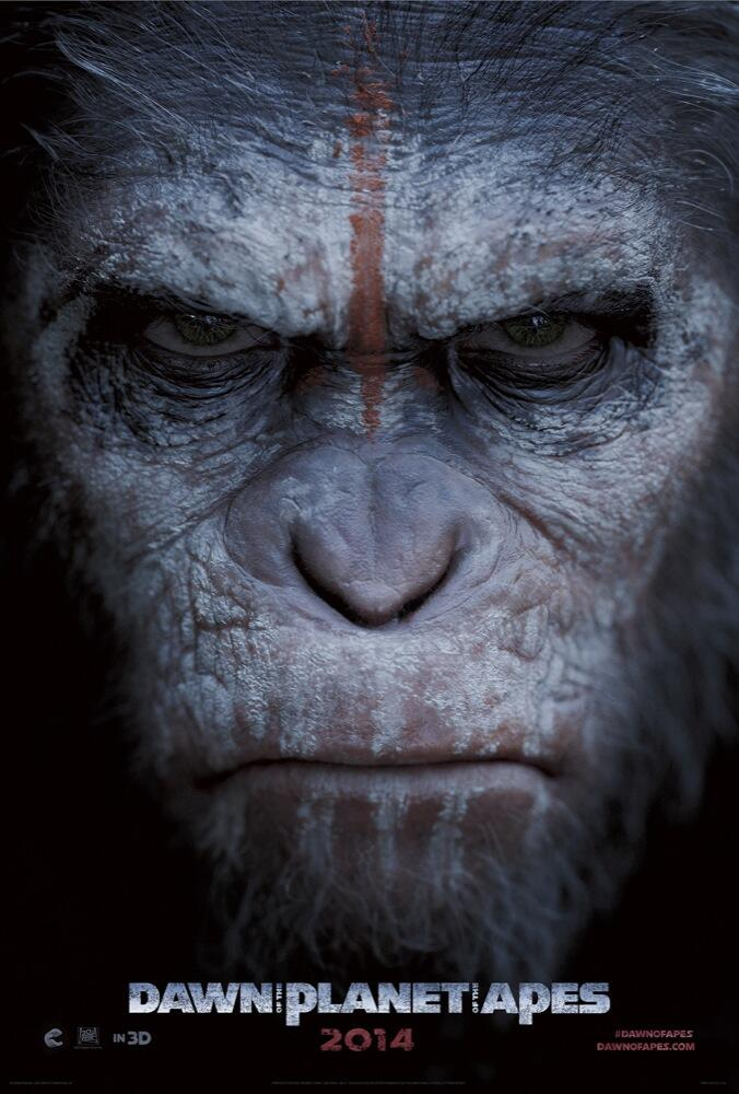 Dawn of the Planet of the Apes poster 1