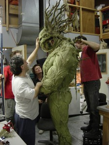 Man-Thing effects 2