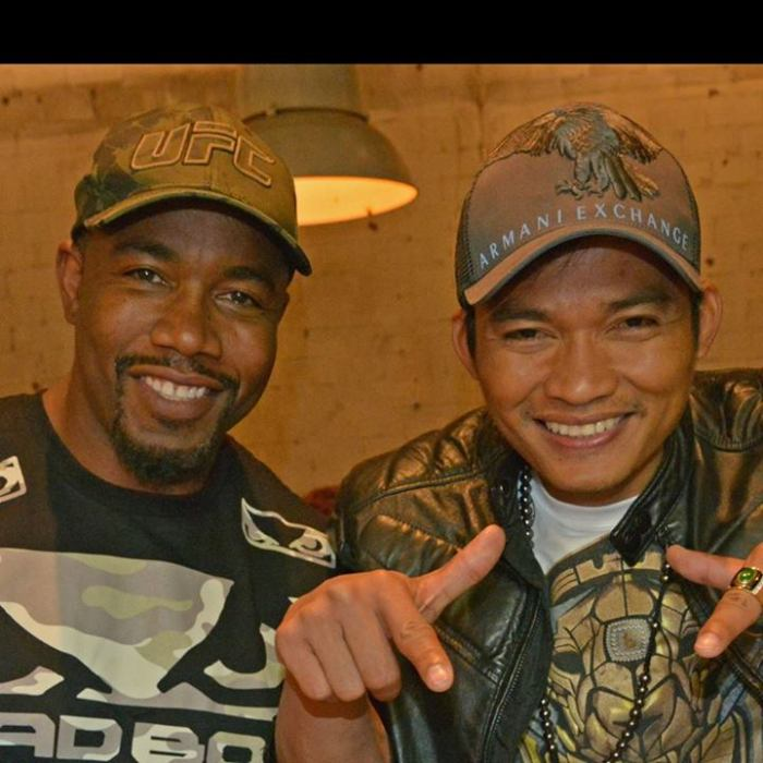 Michael Jai White and Tony Jaa