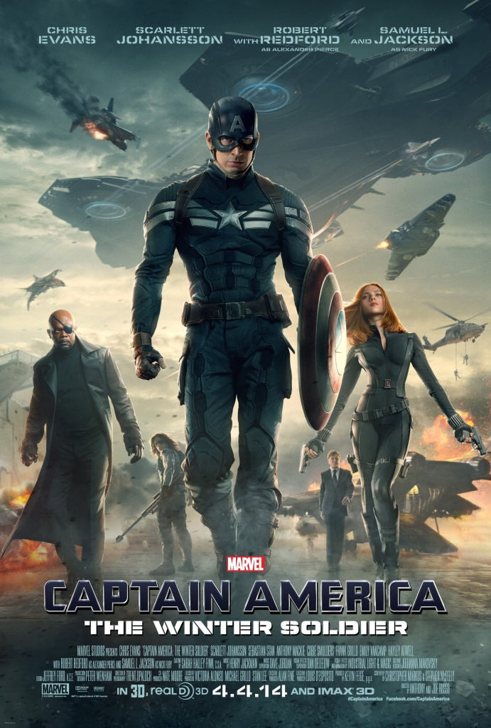 Captain America The Winter Soldier poster 3