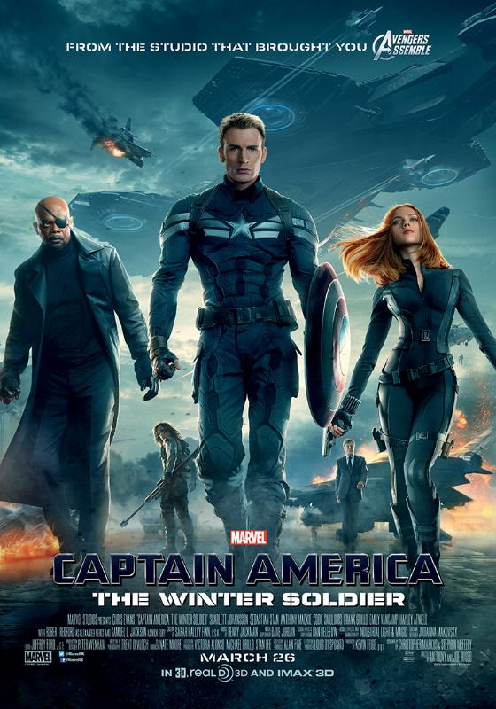 Captain America The Winter Soldier poster 4