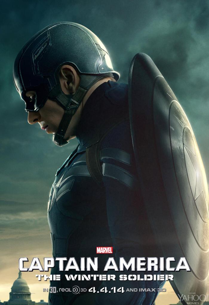 Captain America The Winter Soldier poster Captain America 1
