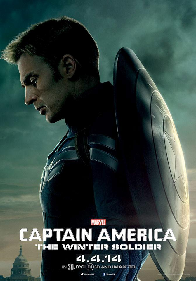 Captain America The Winter Soldier poster Captain America 2