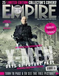 X-Men DOFP Empire Cover - Professor X old