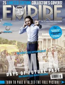 X-Men DOFP Empire Cover - Professor X young