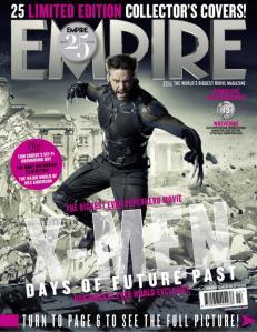 X-Men DOFP Empire Cover - Wolverine old