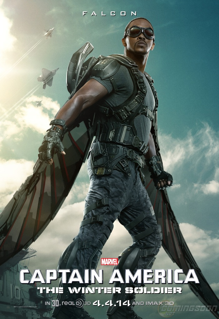 Captain America The Winter Soldier poster Falcon