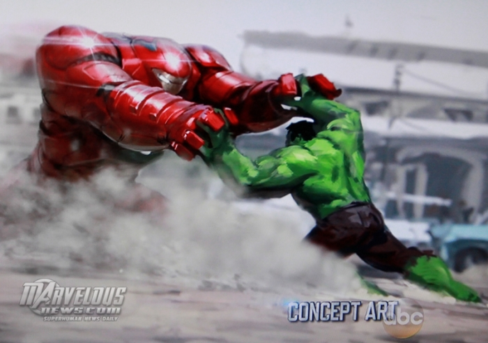 Avengers Age of Ultron concept art Hulkbuster