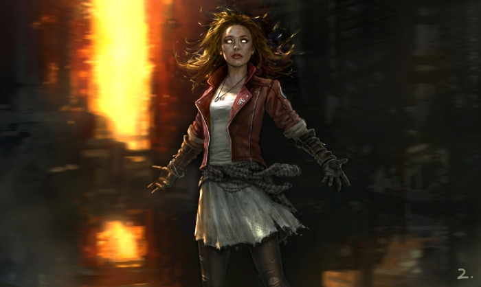 Avengers Age of Ultron concept art Scarlet Witch
