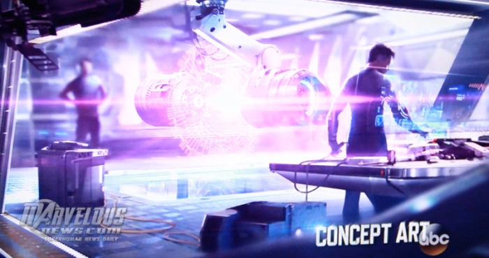 Avengers Age of Ultron concept art Tony Stark