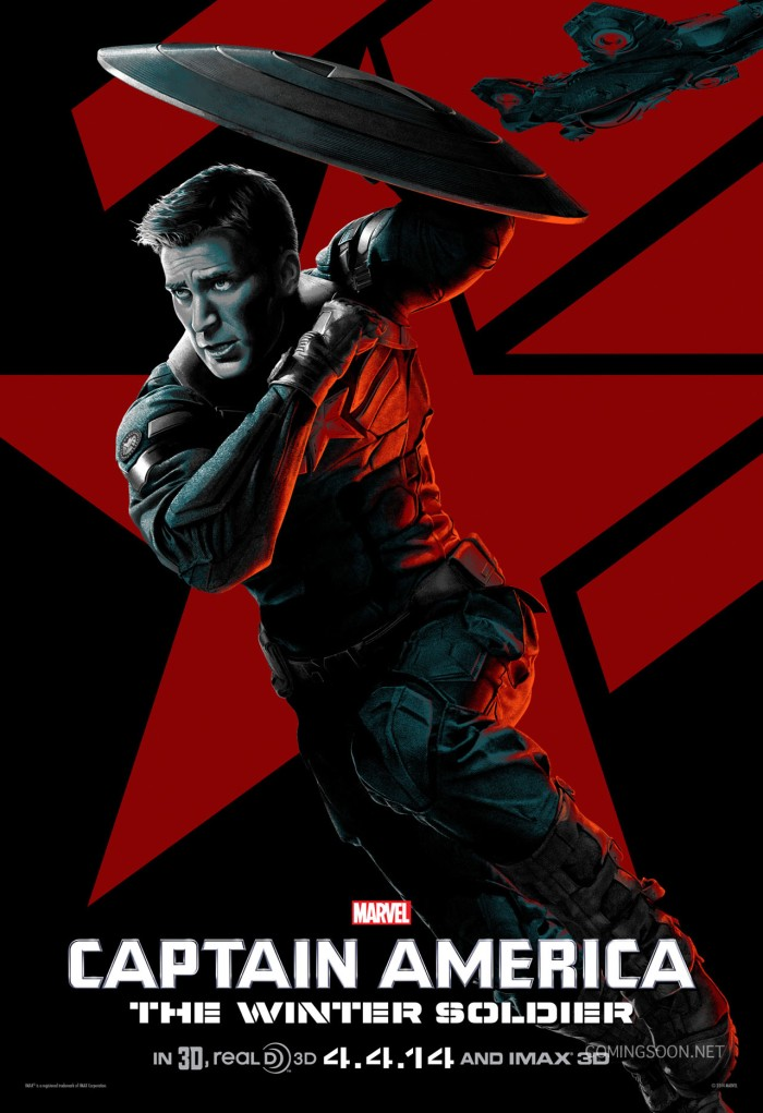 Captain America The Winter Soldier character poster Cap