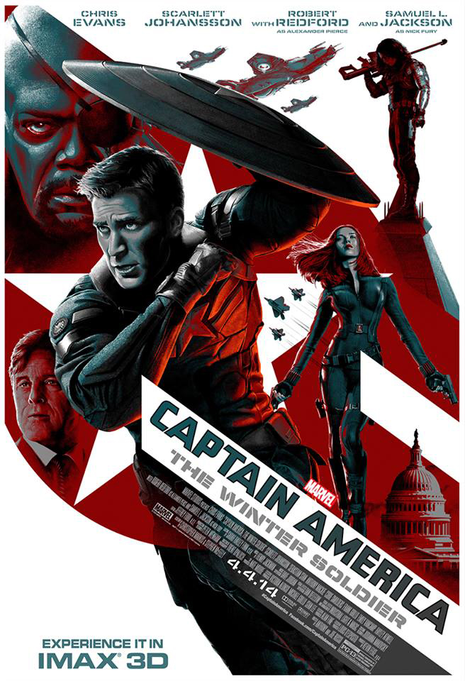Captain America The Winter Soldier IMAX poster