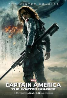 Captain America The Winter Soldier poster TWS